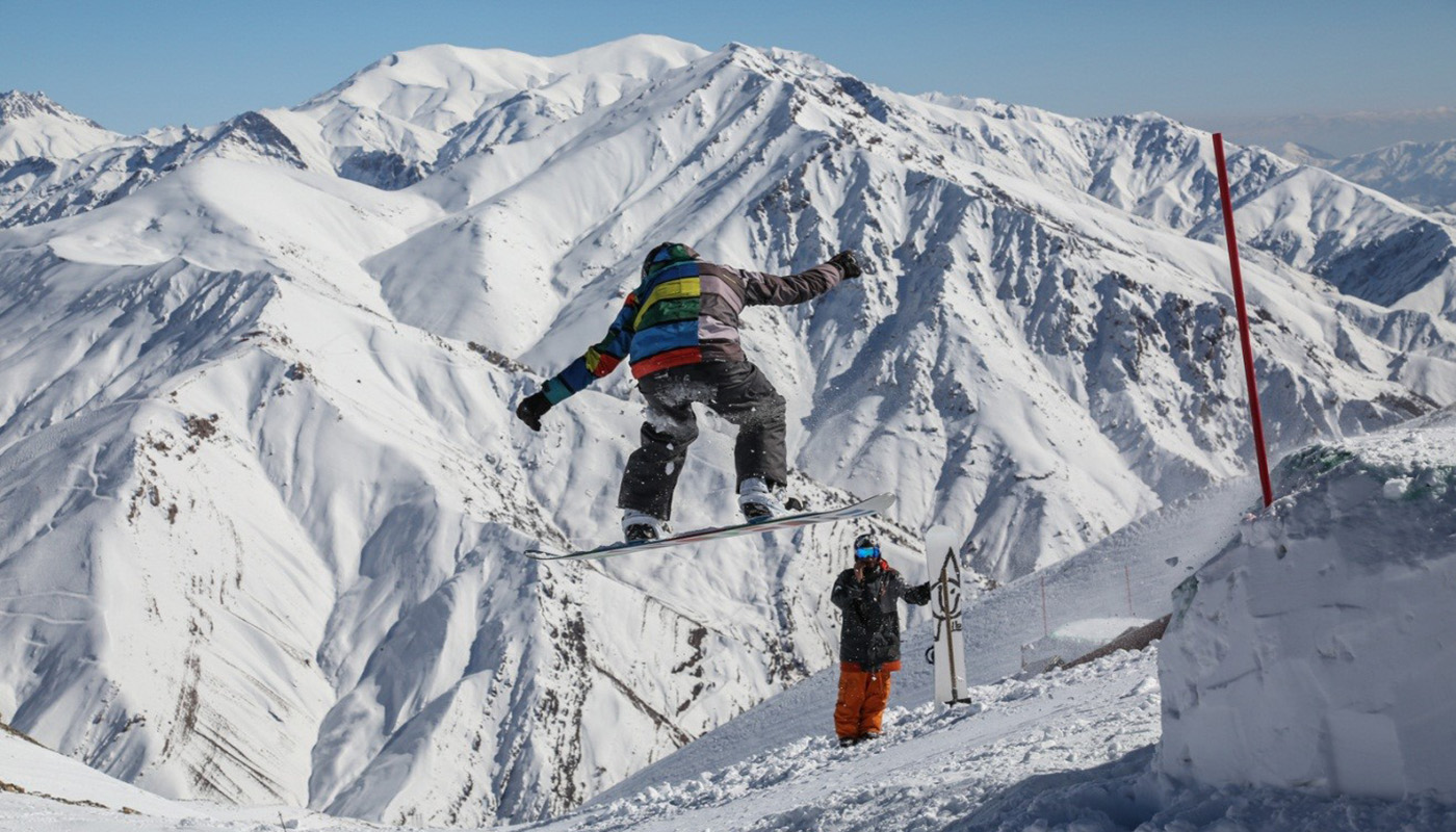 Iran dizin and shemshak ski resort- Adventure tours of Iran