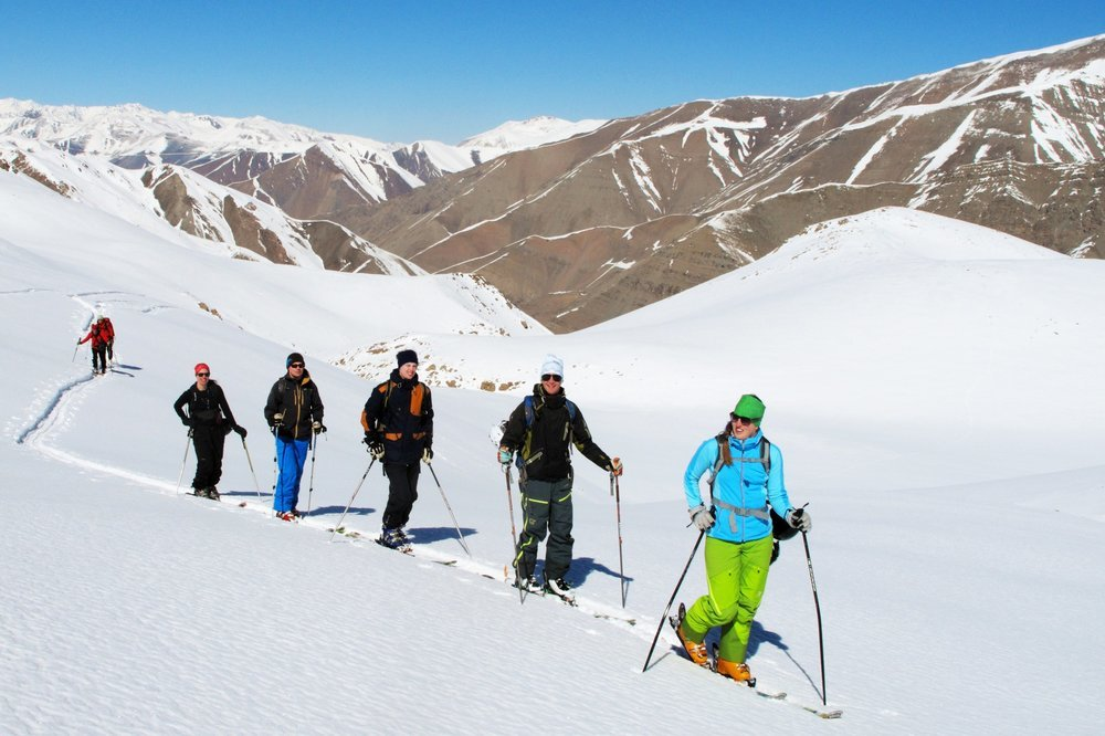 iran Ski tour- Dizin and Shemshak