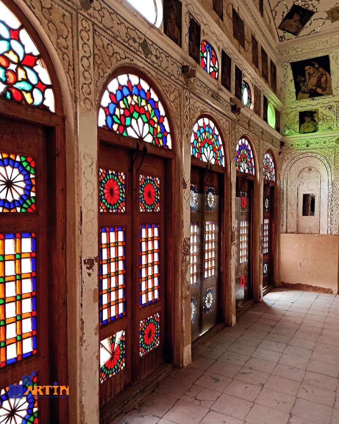 Iran travel tips traditional house in Yazd