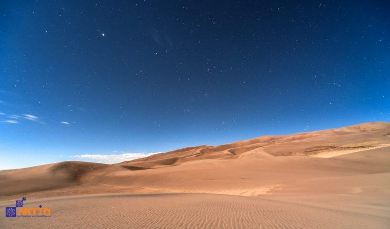 maranjab desert night sky