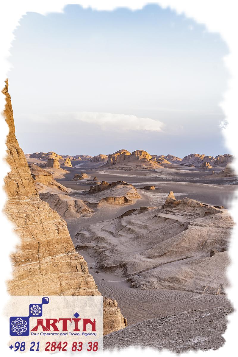 Kavir-e Lut is The first vast Iran desert plain in southeastern Iran