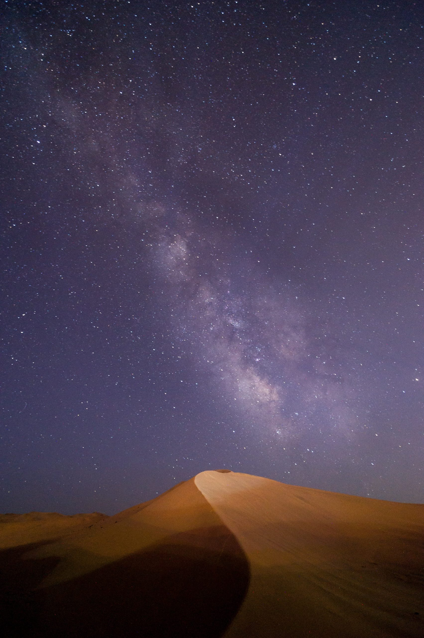 darak desert night sky