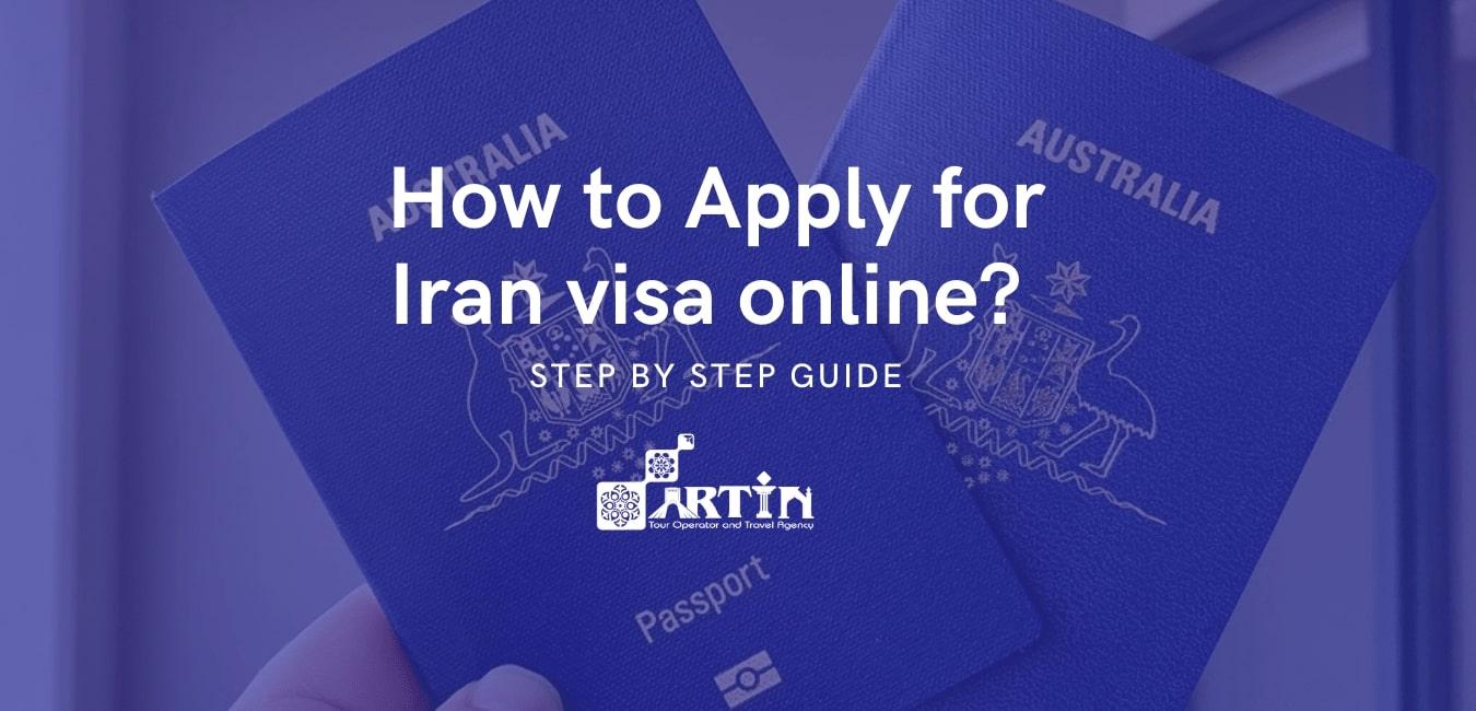 Iran visa online application from Australia