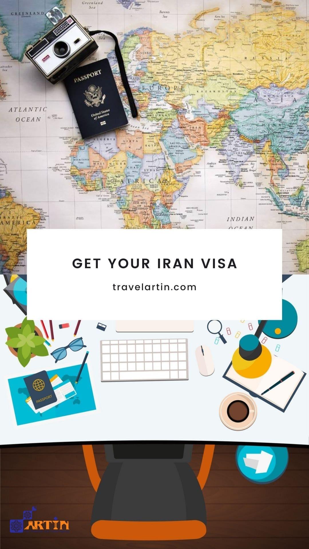 Artin Travel visa services Iranian tour operator