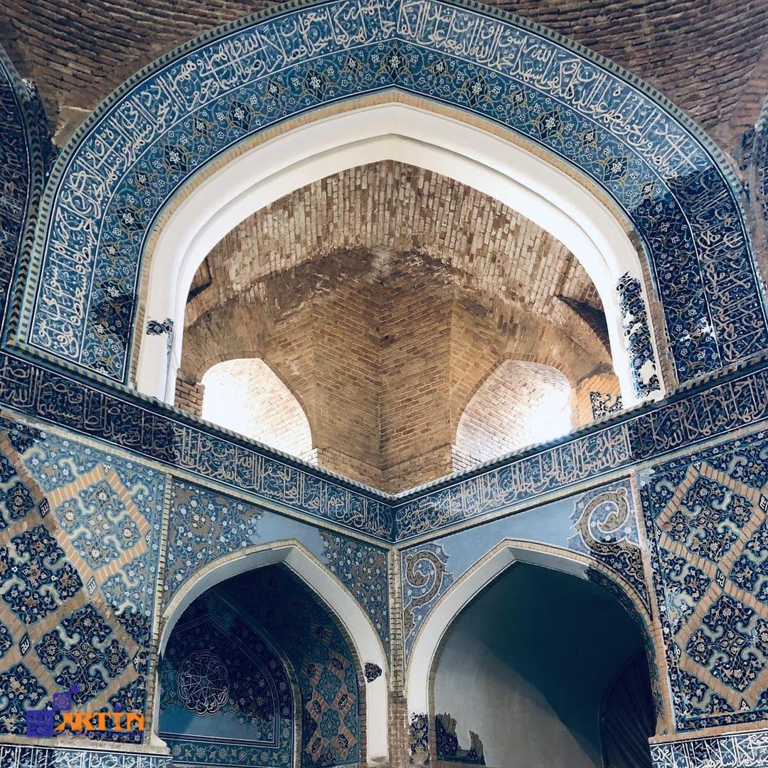 Blue Mosque Iran Tourist Destinations