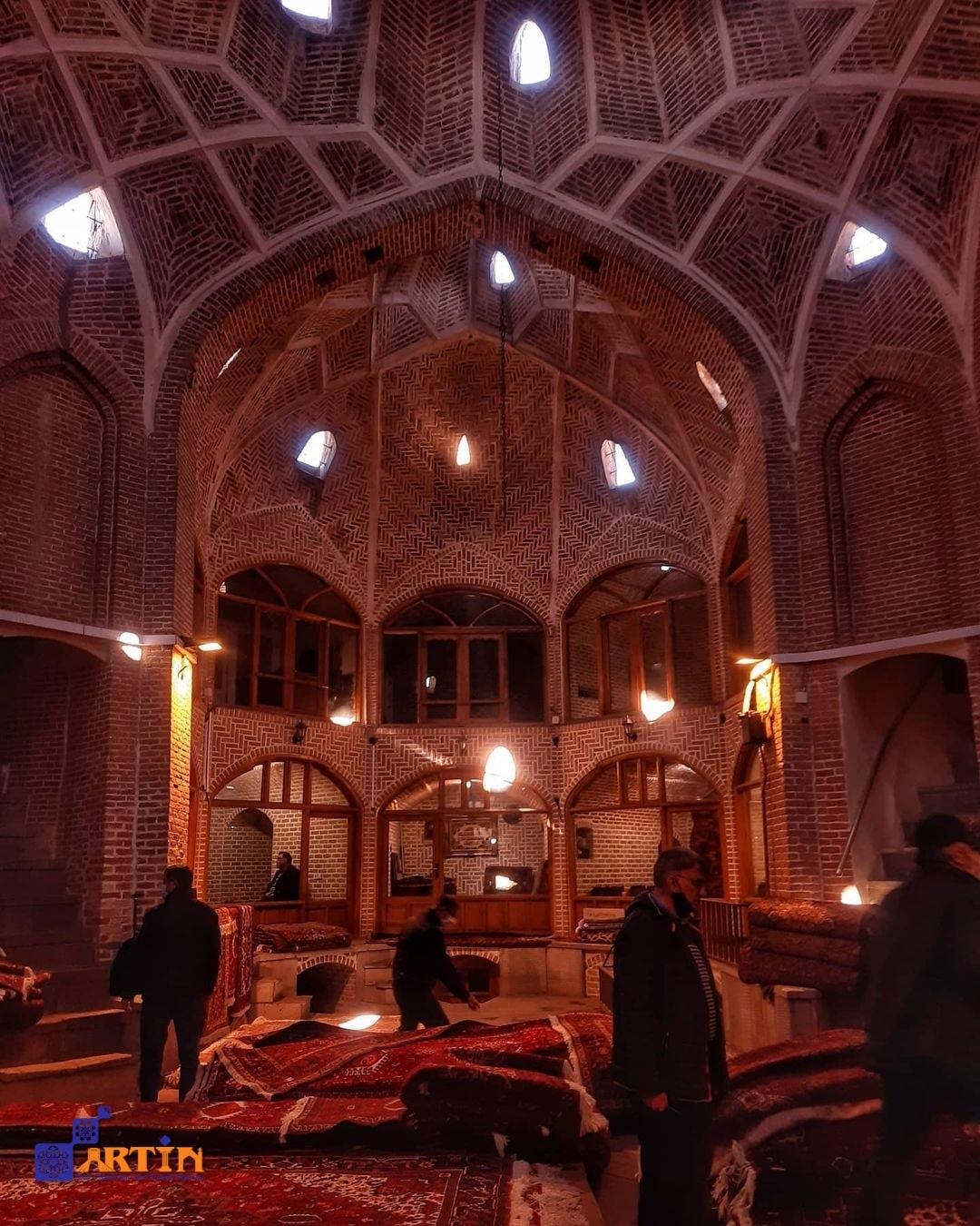 Tabriz grand Bazaar UNESCO site Iran landmark
