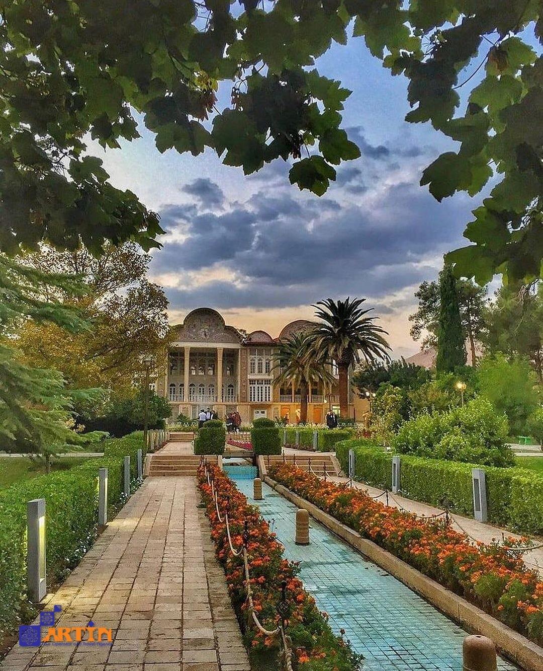 Eram Garden Shiraz landmark Iran tourist spot