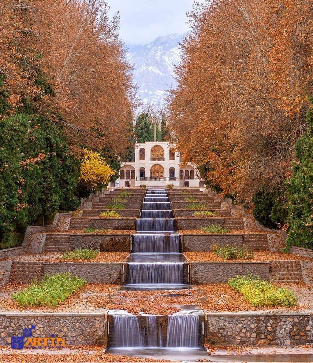 Shazdeh Mahan Persian Garden fountain