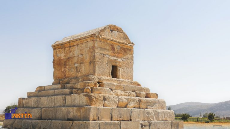 Tomb of Cyrus the Great Pasargadae Persia