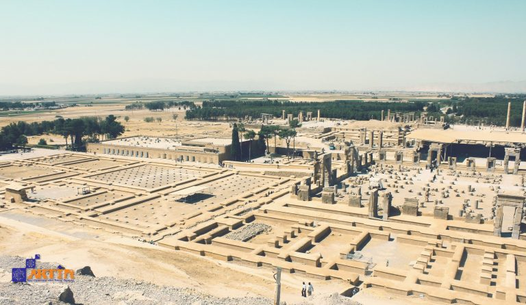 Persepolis architecture from above Persian Tourist attraction