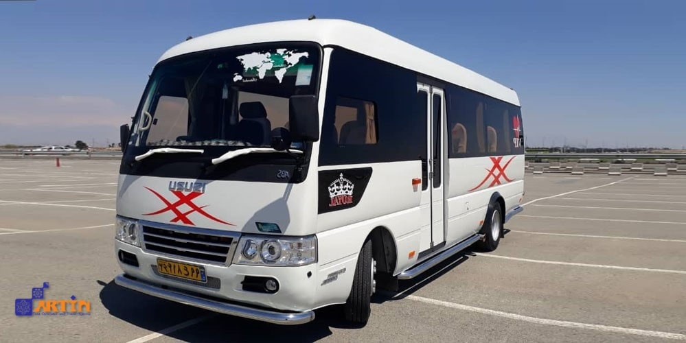 minibus vehicle Iran transportation planning
