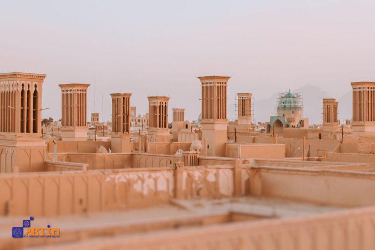 Fahadan Iran tourist spot in Yazd