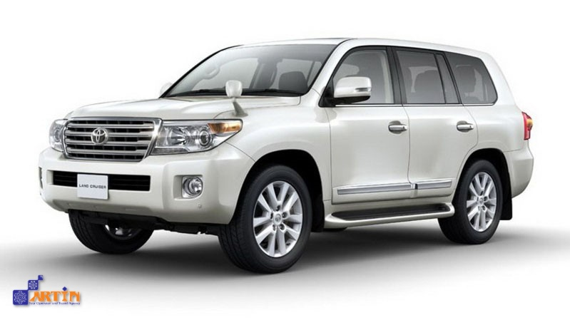SUV full sized car for hire in Iran Travel Artrin