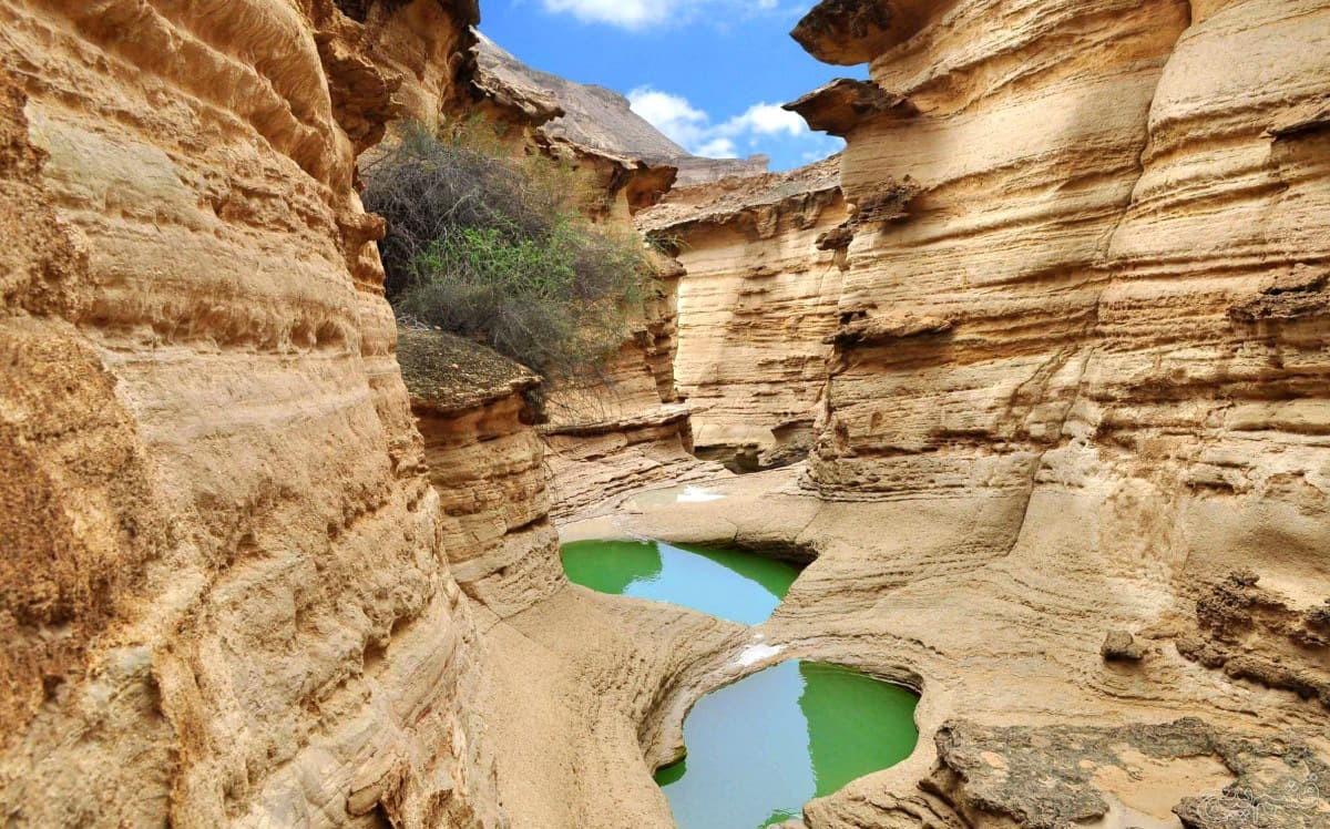 Chahkuh canyon- Qeshm island