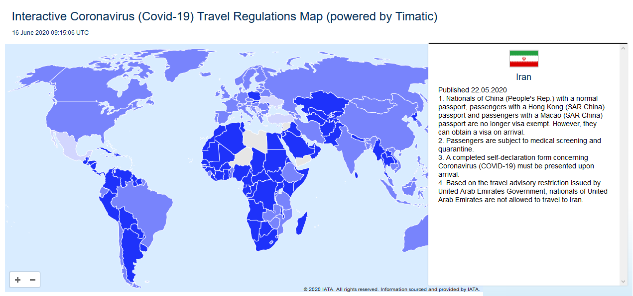 Iran travel regulations after pandemic- travelartin.com- internaional travelers' guide