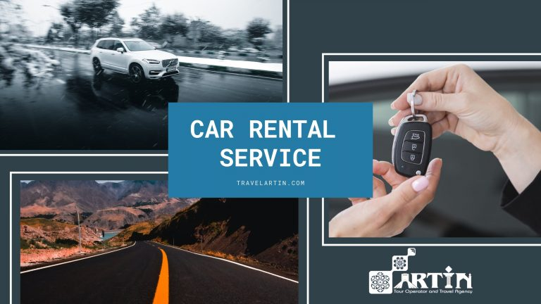 car rental services by iran travel agency