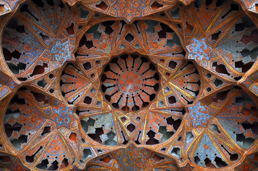 Ali-Qapu-Stucco-design-music-hall-Isfahan-Iran-city-tours-travelartin.com