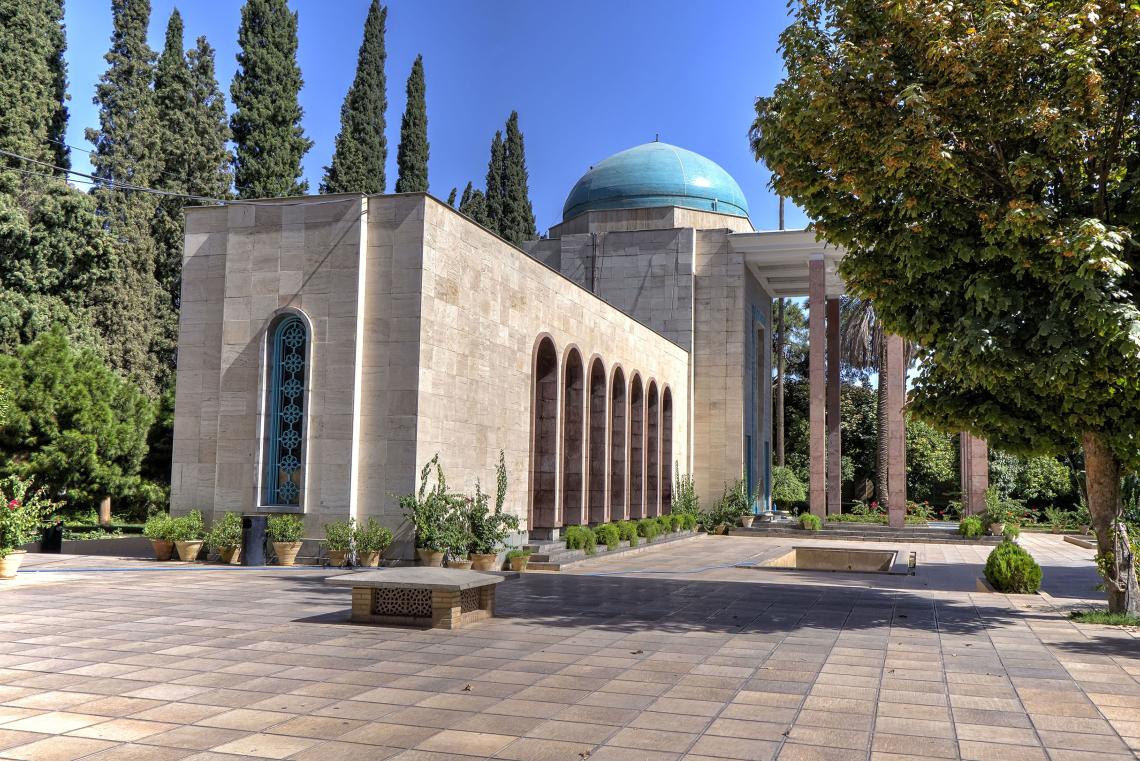 Saadi shirazi tomb in shiraz- Iran daily tours
