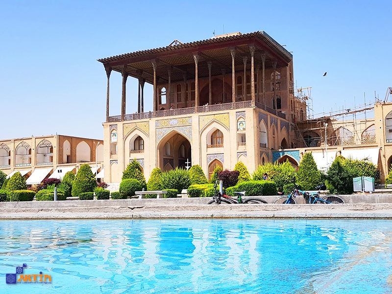 Ali qapu palace is the royal monument in Isfahan located in Naghsh-e jahan square