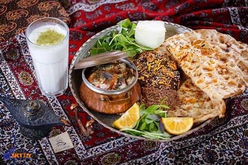 Beryoni - traditional food of isfahan