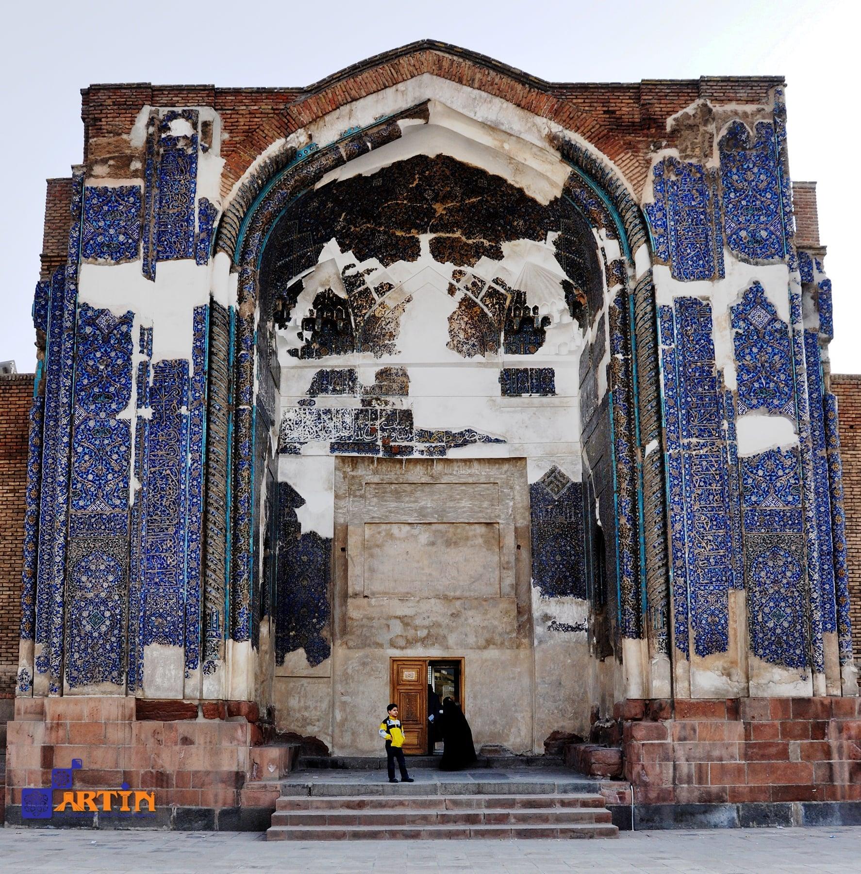 Tabriz blue mosque Tabriz travel guide