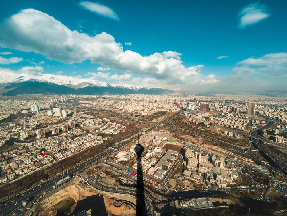 Tehran-city-view-from-Milad-tower-Tehran-travel-guide