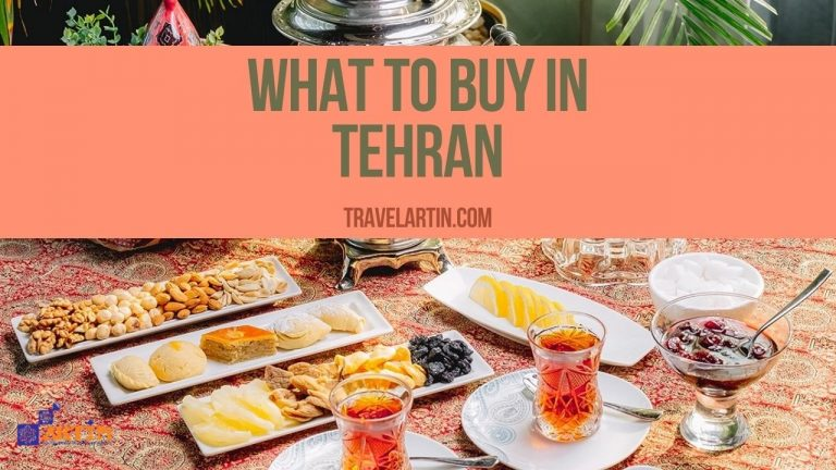 What to buy in Tehran souvenirs travelartin.com
