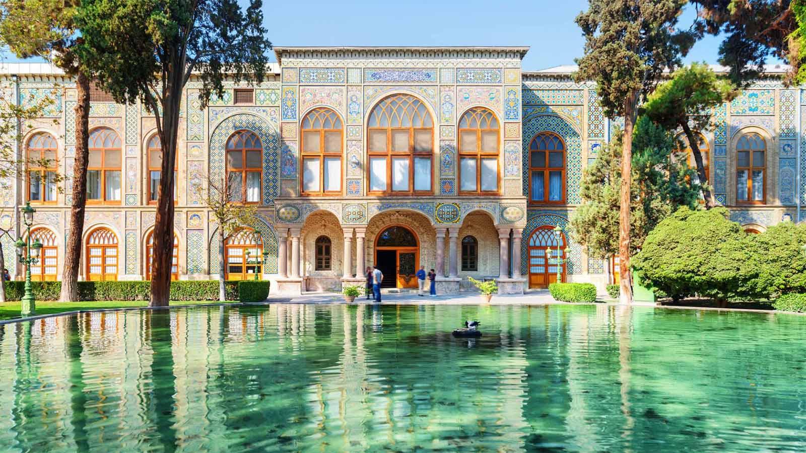 Golestan palace in tehran-UNESCO world heritage site
