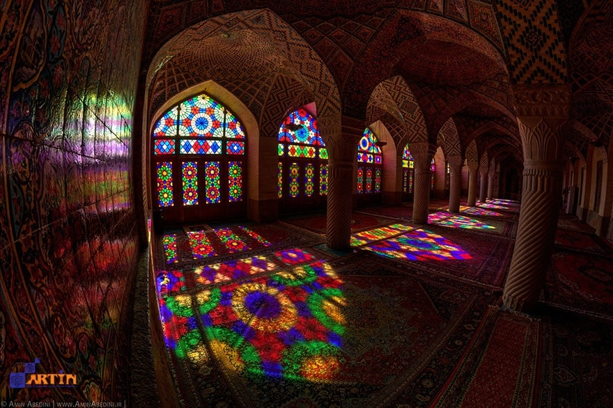 nasir ol molk mosque in Shiraz