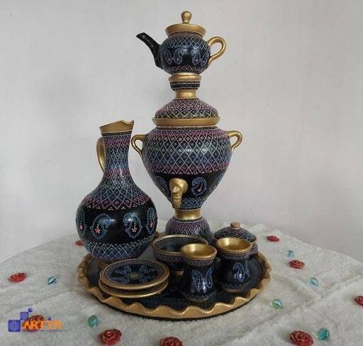 Persian kettle samovar and teapot Tehran souvenir