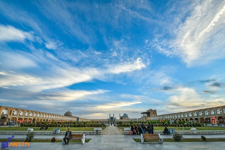 Imam Square unseco site in Isfahan