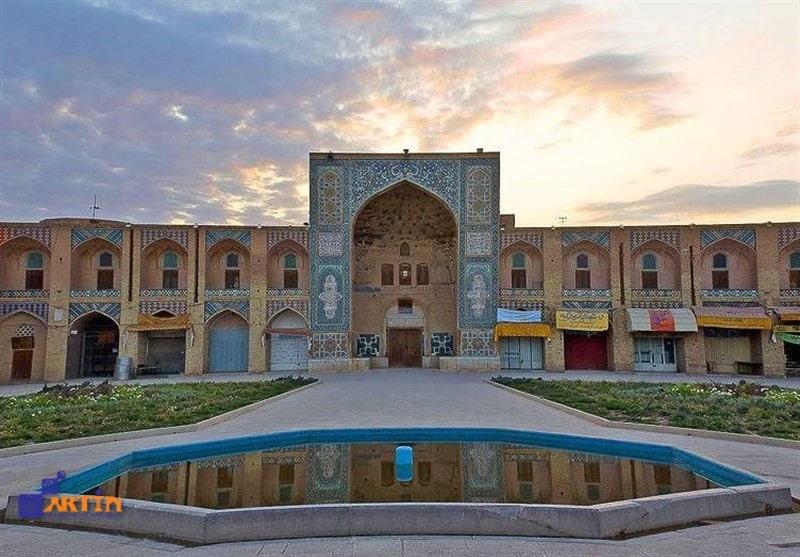 Ganjali Khan Square in Kerman city
