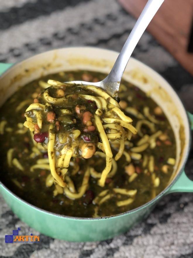 Ash Reshteh Kerman cuisine Persian food