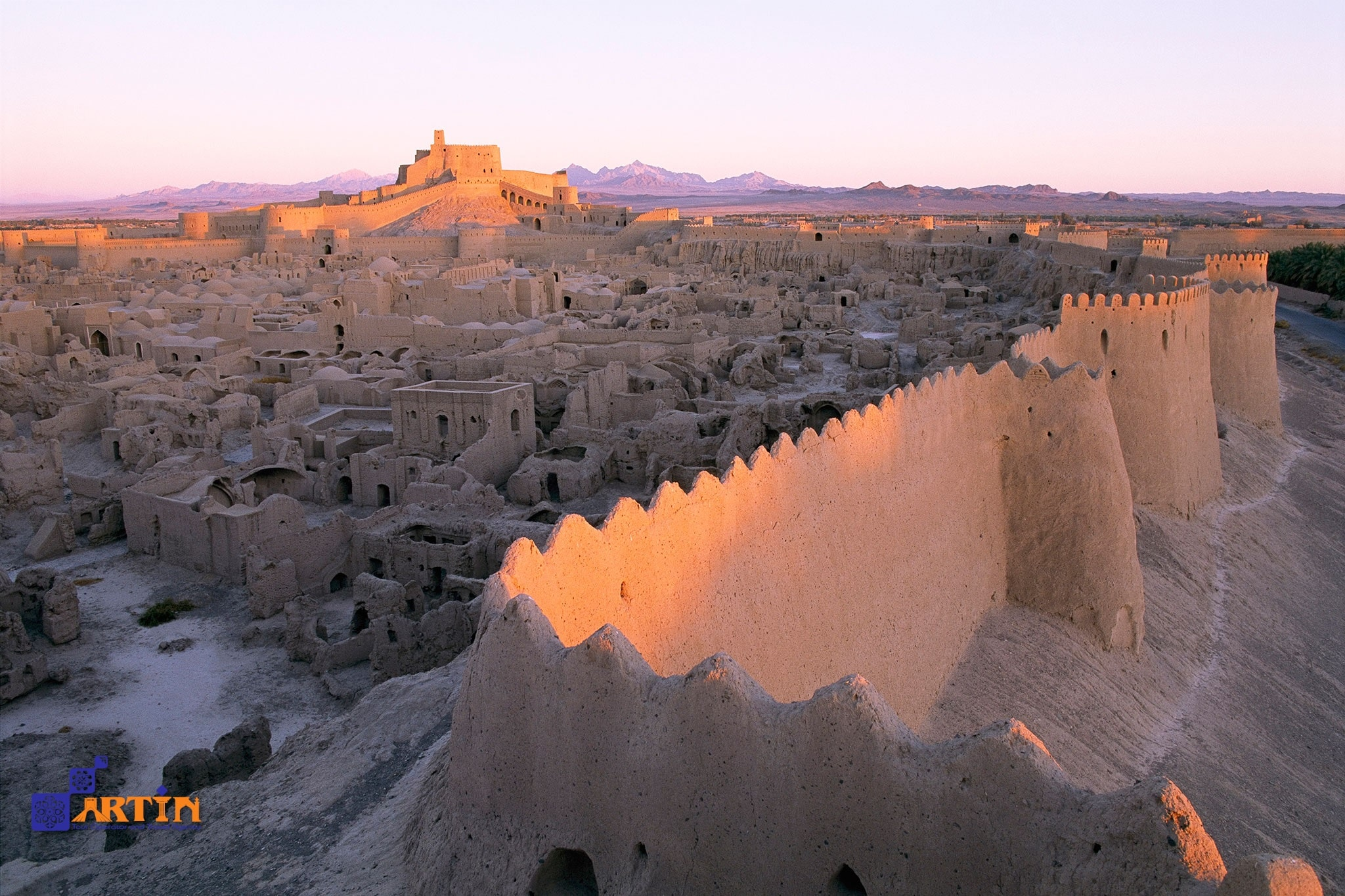 Arg-e Bam unesco site in Kerman