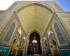Jameh Mosque of Yazd tile art travelartin.com