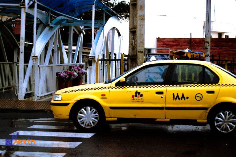 taxi in Iran transportation planning travelartin.com