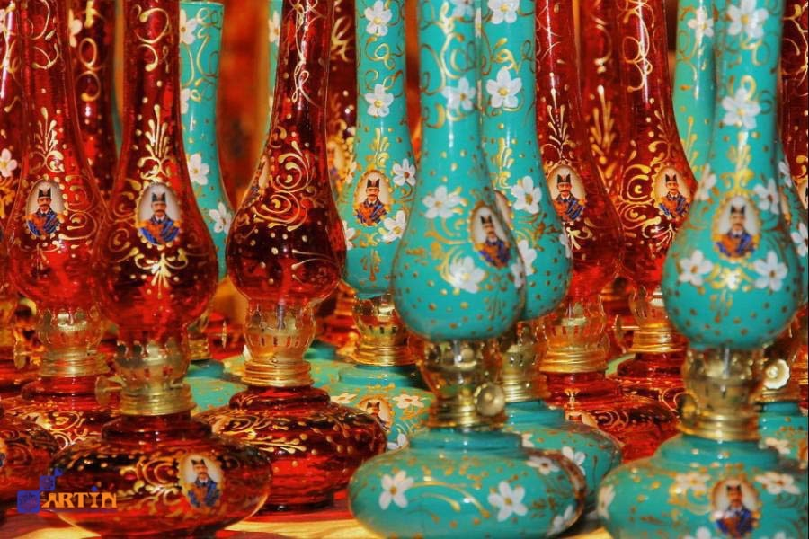 Glassblowing in Shiraz Persian craft Artin Travel
