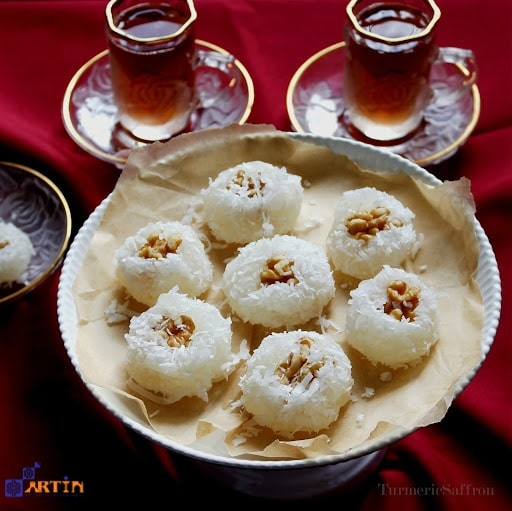 Baslogh traditional Persian sweet in Tabriz travel guide