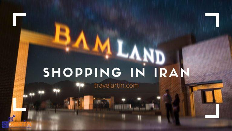 Shopping in Iran gift shop Artin Travel