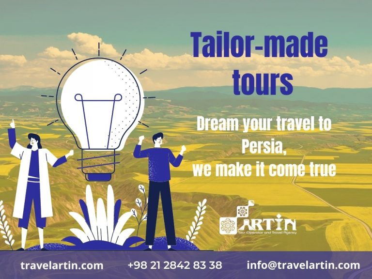 Tailor-made tours by iran tour operators