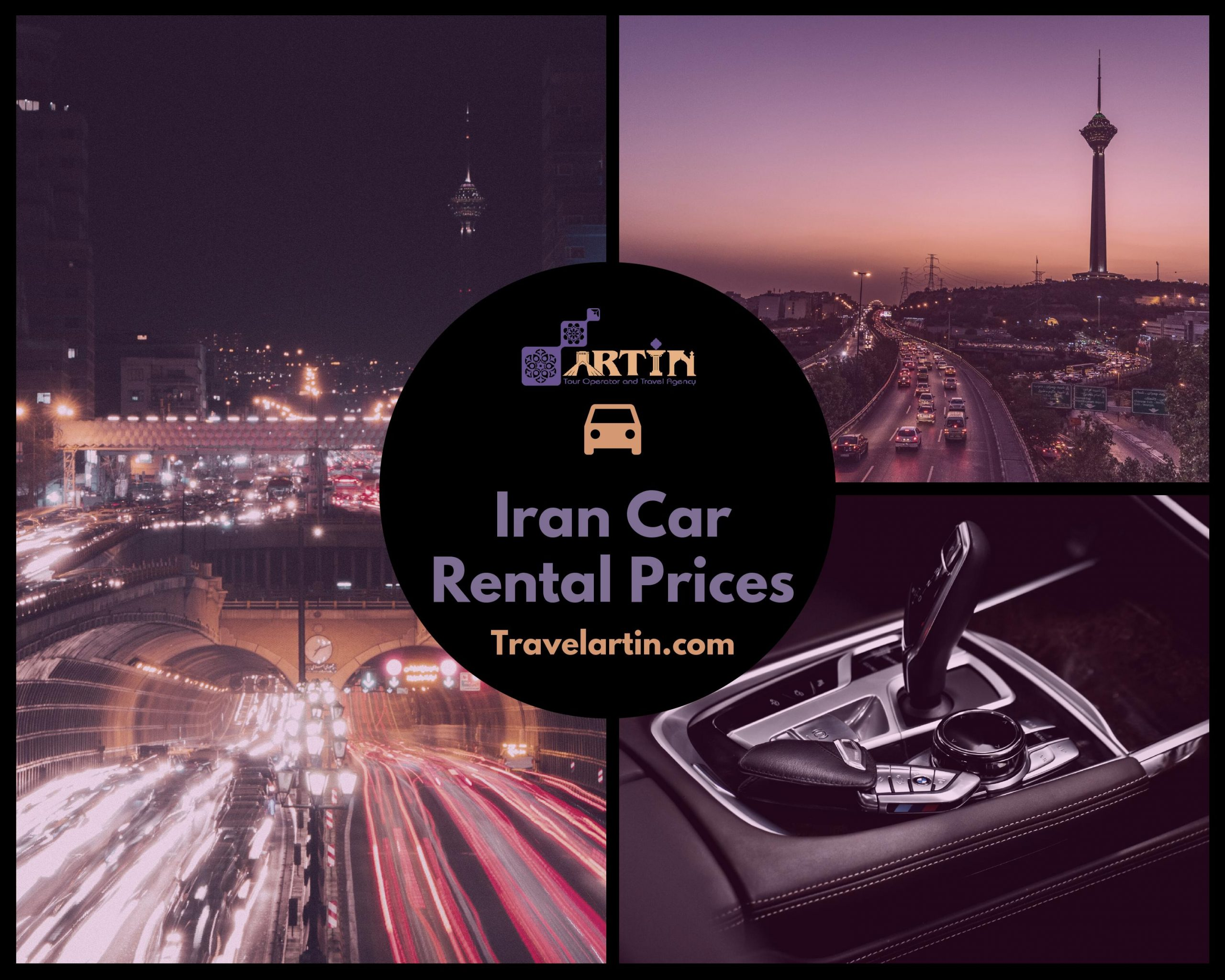 Iran Rental car fees and prices Travelartin.com