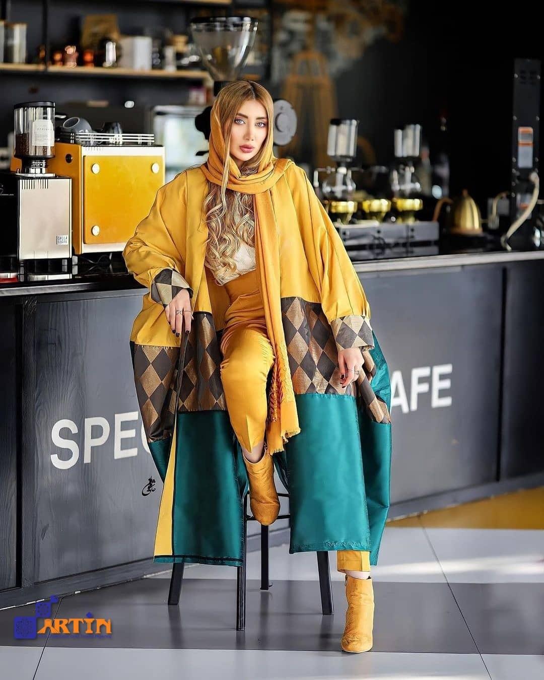 Iranian women street fashion in Tehran