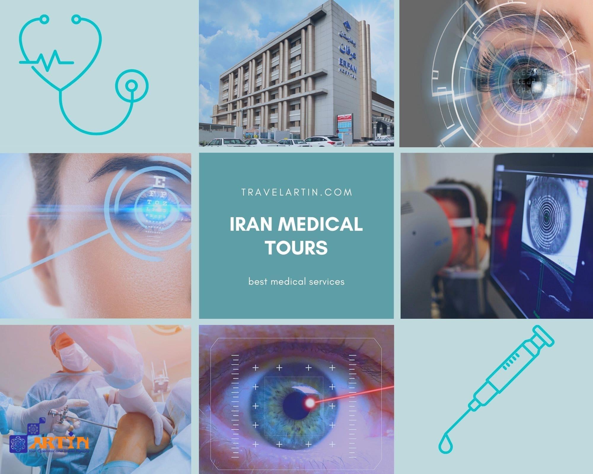 Best medical services in Iran tour Artin Travel