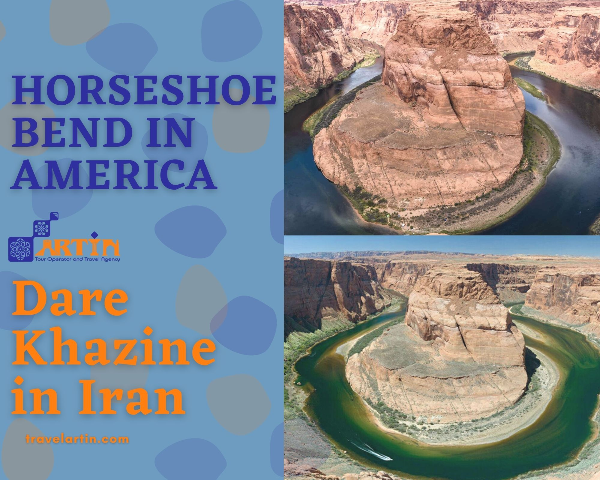 Dare Khazine in Iran tips about travel from america