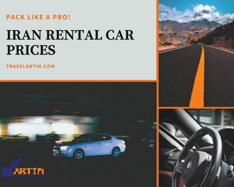 car prices in Iran Tehran travelartin.com