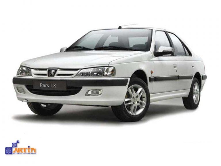 Peugeot Pars Iran rental car