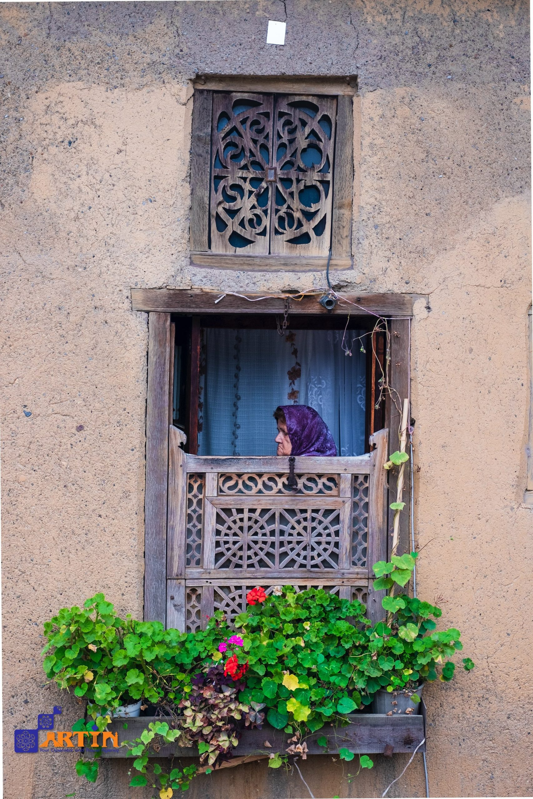 traditional persian house in Iran