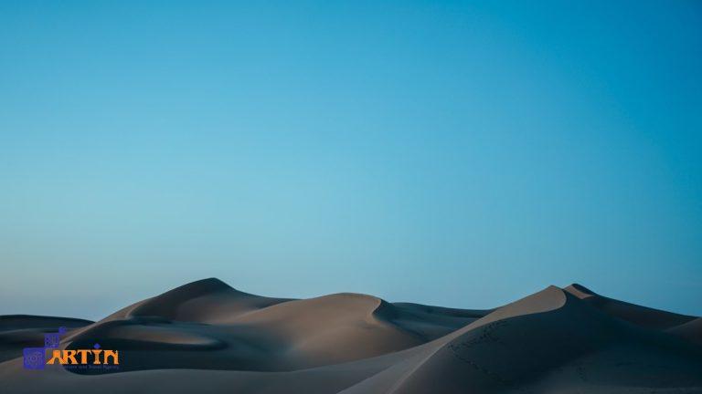 Mesr desert dunes in Iran travelartin.com