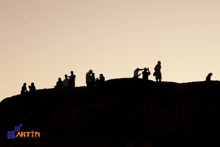 Shahdad desert tourism camping