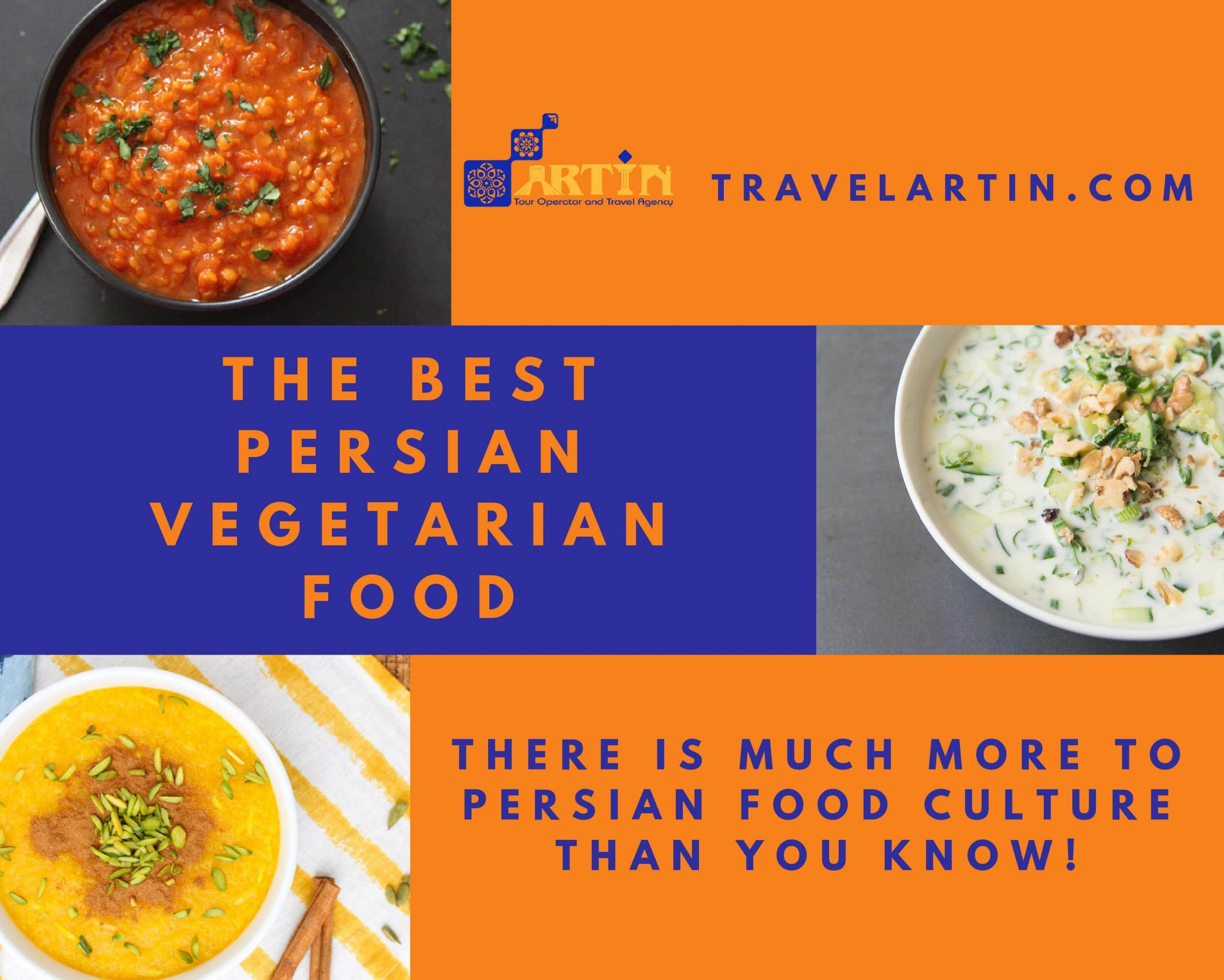 Persian vegetarian food list and ingredients Artin Travel